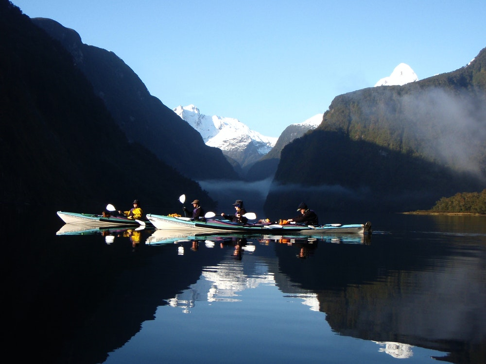 Kayak in the mystical Doubtful Sound and spot unique wildlife