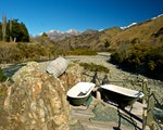 Outdoor hot tubs in the Waihopai Valley