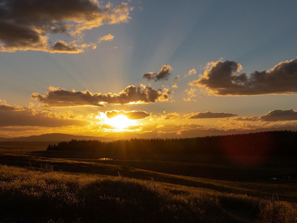Capture glorious sunrises in Lake Tekapo