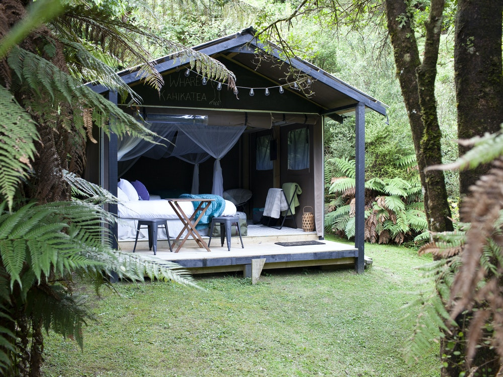 Spend a few nights in the remote Te Urewera Rainforest