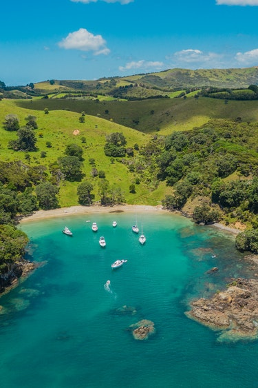 Nz waiheke island drone water boats land joshua mccormack partner header