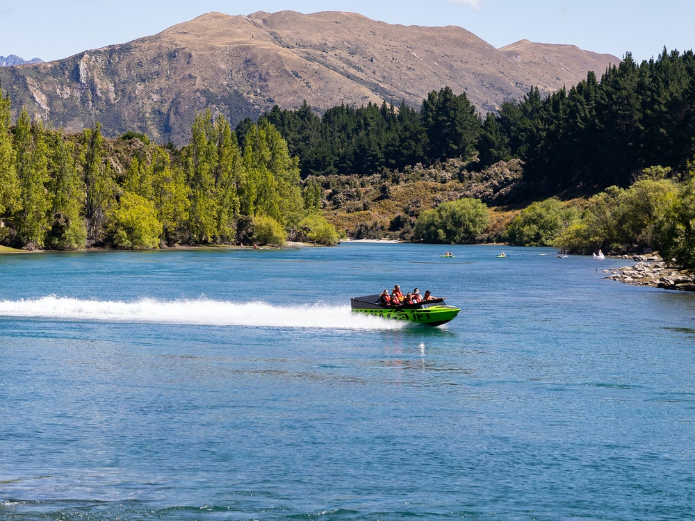 Start your day off with a thrilling jet boat ride through glacial waters