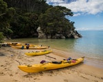 Kayak or hike in New Zealand's smallest national park