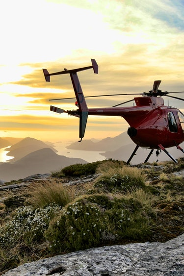 Nz fiordland helicopter hike nature mountain partner see and do adventurous 1