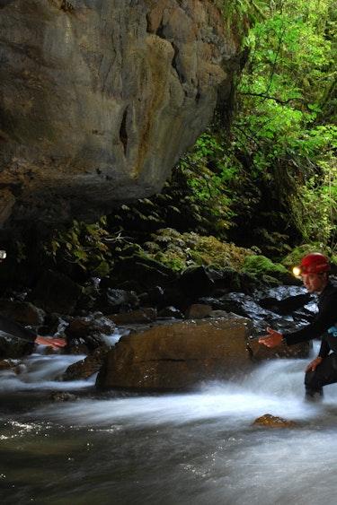 Nz waitomo adventures lost world 2 partner adventure