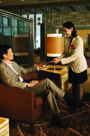 Singapore airlines first class checkin