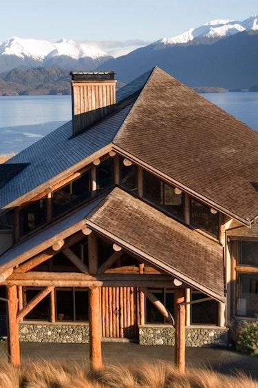 Nz fiordland lodge mountain view solo stays luxury