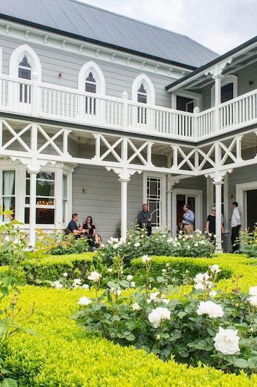 Nz marlborough lodge garden view solo stays luxury