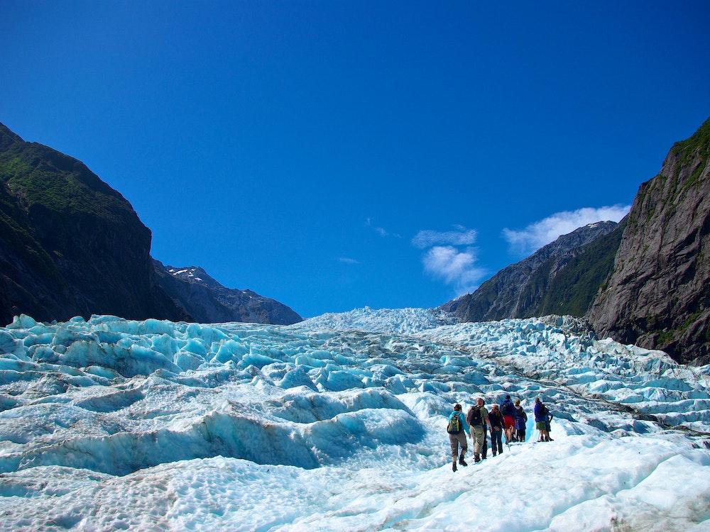 Conquer the Fox Glacier all year round