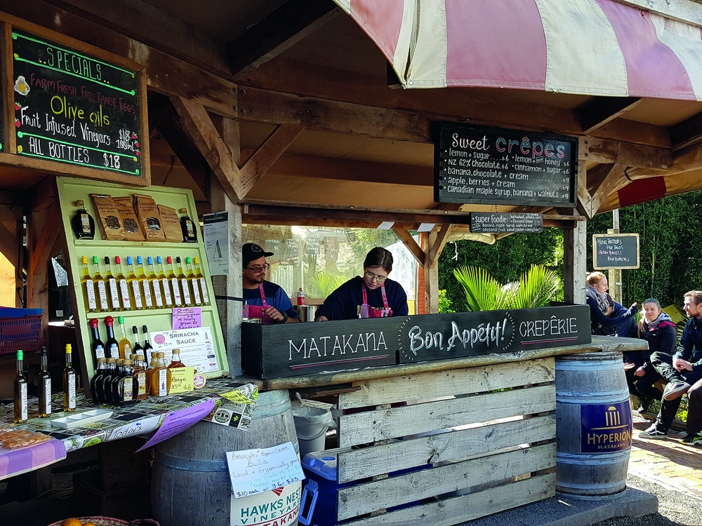 Join the locals and visit the Matakana Village Farmers Market
