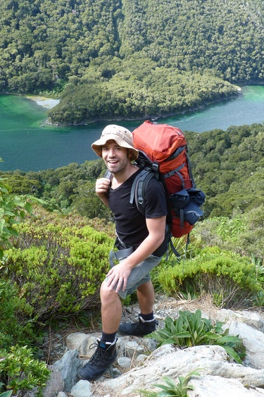 Nz routeburn track fiordland national park solo best travel time