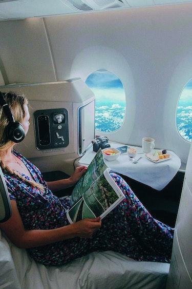 Nz business class flying solo flights