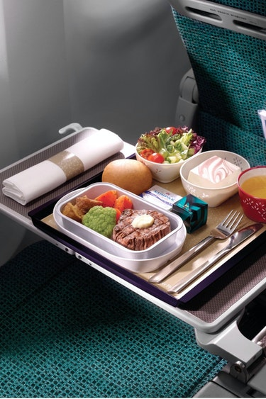 Nz cathay pacific meal solo flights premium economy