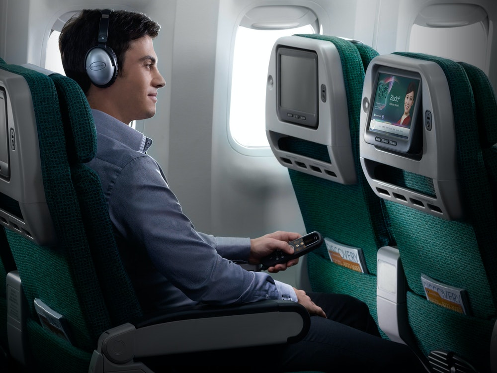 Cathay Pacific offers endless inflight entertainment