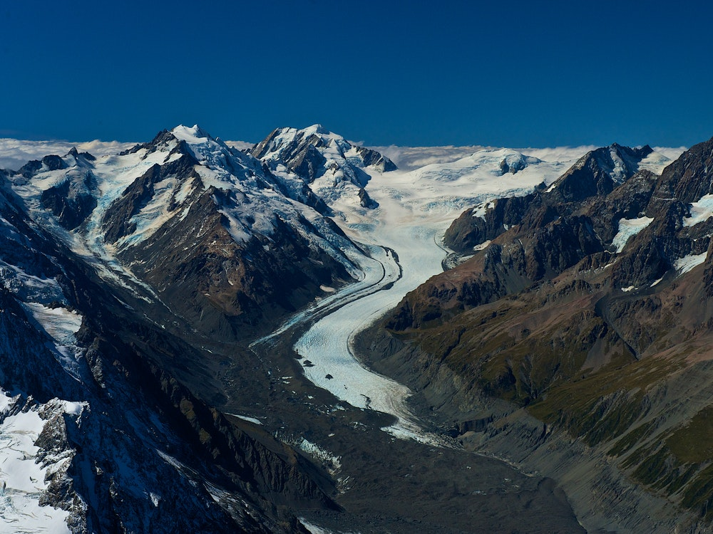 Enjoy a scenic flight over the mighty Southern Alps