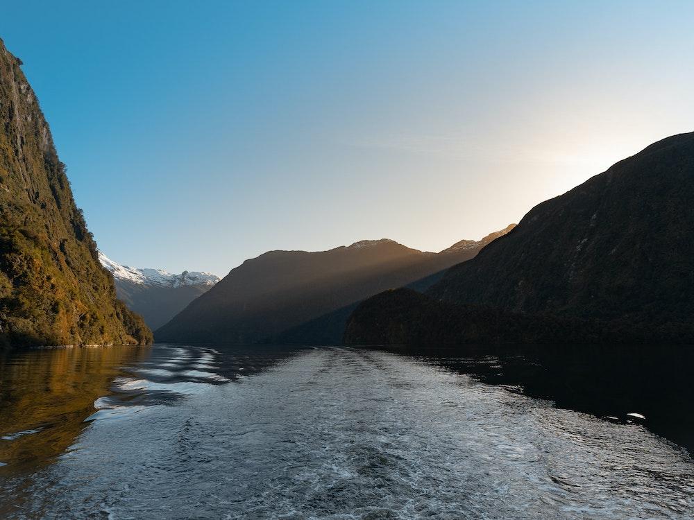Cruise the mystical Doubtful Sound