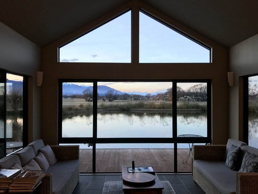 Stay a few nights at a lakeside lodge