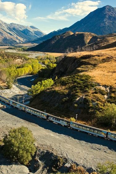 Nz tranz alpine journey