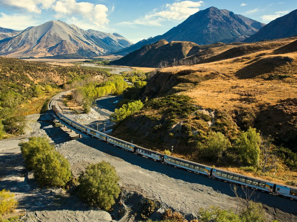 Would you like a break from driving? Enjoy a scenic alpine train journey