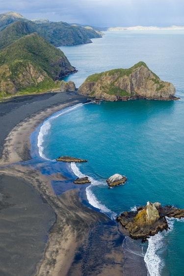 Nz whatipu beach drone joshua mccormack solo header