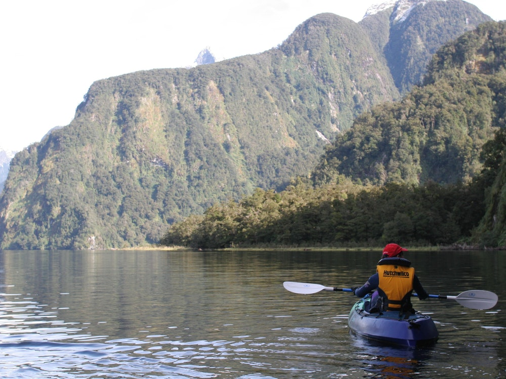 Kayak the mystical waters of Doubtful Sound