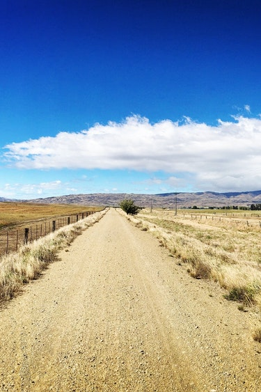 Nz otago bike trail road view see and do active