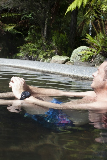 Nz rotorua andrew natural hot spring solo easygoing