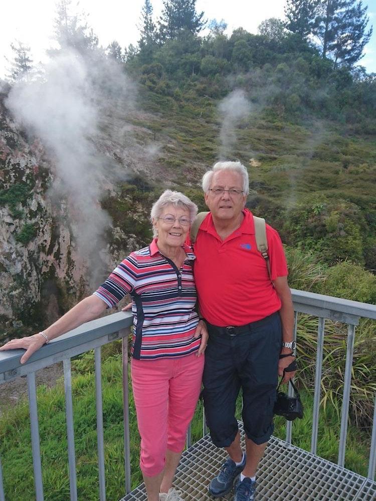 Walking in Rotorua